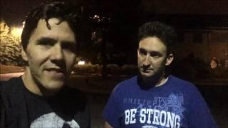 Jeff Belanger and Dustin Pari invite to the Houghton Mansion Sept. 17th