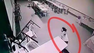 Scary Ghost Attack and Kill a Woman ➨ CCTV footage