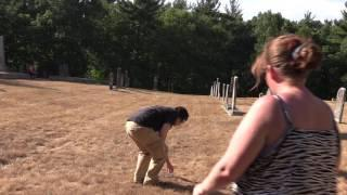 Pinehill Cemetery Blood Cemetery Hollis NH July23,2016 Part one