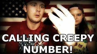 CALLING CREEPY NUMBER! Scary Phone Calls! (801)-820-0263 - Paranormal America