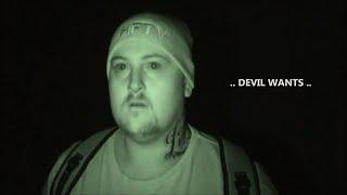 Ghost Attacks Ghost Hunter Caught on Tape at Scary Haunted Church