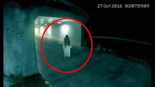 Paranormal Activity In A Parking Lot!!!! Ghost Video Compilation