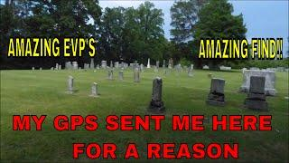 "MY GPS SCREWED UP ""OR DID IT""? I FOUND MY DEAD RELATIVES !!"