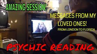 PSYCHIC READING FROM LONDON TO FLORIDA (AMAZING MESSAGES}!
