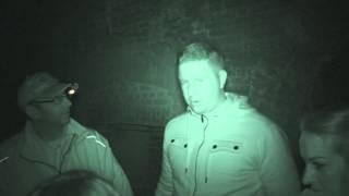 VIP guests at Fort Amherst having a ghostly experience