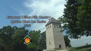 Spiritus Ghost Box Session at Fairmount Hills Cemetery on 6/11/16
