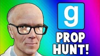 Gmod Old Man Factory! (Garry's Mod Prop Hunt Funny Moments)