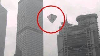 5 OVNIS Piramidales Captado en Video UFO/OVNIS 2018