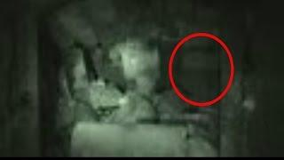 Real Poltergeist Attack Caught On Tape - Throws Stones At Us - Terrifying Real Ghost Videos