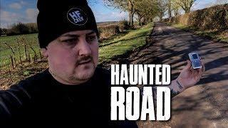 HAUNTED SHADOW MAN ROAD!
