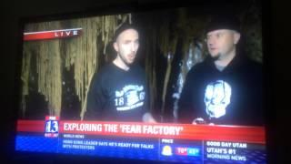 DEAD TIME: on FOX news at The Fear Factory