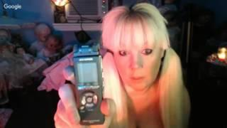 Paranormal Hang out/EVP with NEW Panasonic DR60, 20-125 Ghost Box, Haunted dolls and  Tarot