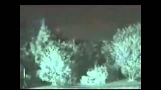 Real Ghost Filmed Walking Through Forest
