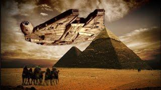 Aliens Built the Pyramids. Aliens From David Icke's Butt.