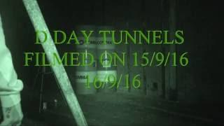 DDAY TUNNELS portsmouth uk filmed on 15/9/16 dark knights paranormal