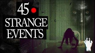 45 Mysterious and Strange Events Caught on Tape Mix
