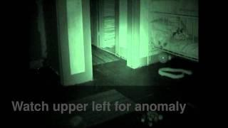 Ghost Video #2 Villisca Children's Room -Strange Light anomaly(near top left)