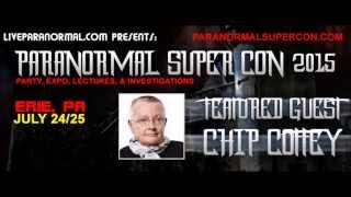 Paranormal Super Con 2015 Featured Guest  Chip Coffey