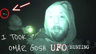 I TOOK OMAR GOSH UFO HUNTING IN AN OLD HAUNTED GHOST TOWN