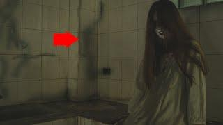 Man Records Chilling Encounter With Ghost In Motel Room!! GHOSTS