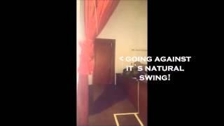 DOOR OPENING ON ITS OWN!