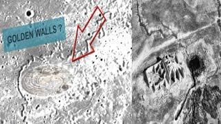 RUSSIAN LEAKED FOOTAGE OF ALIEN BASE  (GOLDEN CITY ?) ON THE MOON DECEMBER 2016