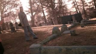 Gabe's first investigation 12.9.12 Pine Grove Cemetery Manchester NH PART 1 ECHOVOX
