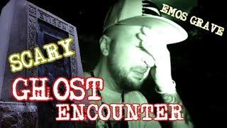 EMOS GRAVE CREEPY PARANORMAL ENCOUNTER AT HAUNTED SALT LAKE CEMETERY UTAH