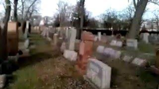 "LIVE from ""unknown"" cemetery location I was at last week. LIVE Spirit Box Sessions"