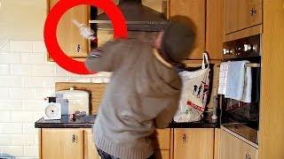 Violent Poltergeist Activity. Evil Demon Throws PLASTIC AIRLOCK?! Scary!