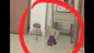 fake paranormal poltergeist video exposed
