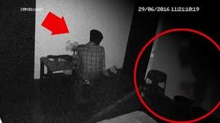 Ghost Attack | REAL GHOST CAUGHT ON CAMERA | Scary Videos | Paranormal Activity Caught On Tape