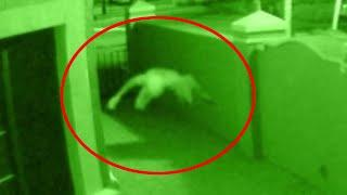 Ghost In Air Spotted!! Paranormal Activity Caught on CCTV Camera