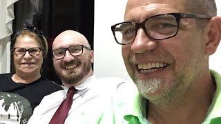 Com o Aldo em Joinville