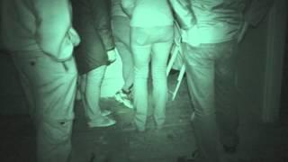 Explosion Museum ghost hunt - 9th September 2015 - Table Tilting