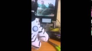 zebra Motion Sensor Trigger Toy.
