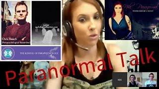 Are Ghosts Real Or Fake - GHC Paranormal Talk Show #3 LIVE, Niki Paraunnormal, Chris beech