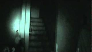Amazing video! a orb travels out of one of my investigators stomach and travels upward!