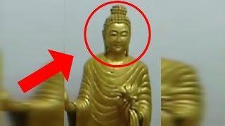10 Increíbles Estatuas Moviendose Captado en Video