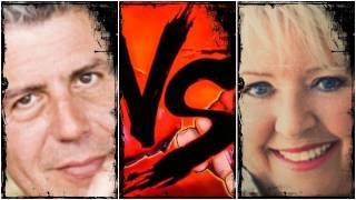 Anthony Bourdain VS Paula Deen - Food VS Food