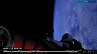 ¿Un ovni? Detectan un misterioso objeto durante el lanzamiento del Falcon Heavy