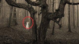 Real Ghost In The Forest 2017!! Real Ghost Girl Caught On Camera | Shocking Ghost Sighting