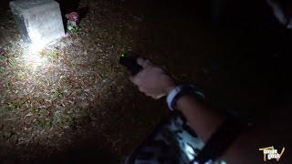 Visiting A Haunted Graveyard At Night (Real Paranormal Activity)