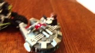 Star Wars lego battle