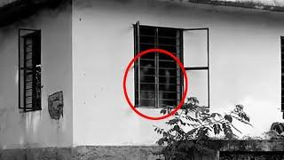Real Ghost Girl Caught On Camera Near Window!!