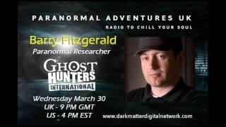 Paranormal Adventures UK - Barry Fitzgerald