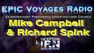 Mike Campbell & Richard Spink - Amelia Earthart's Final Flight - EPIC Voyagers Radio