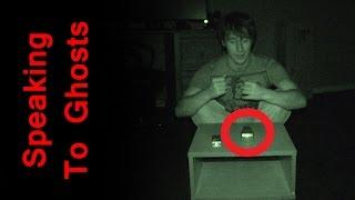 Speaking With Ghosts - K2 Communication Session - Real Paranormal Activity Part 32