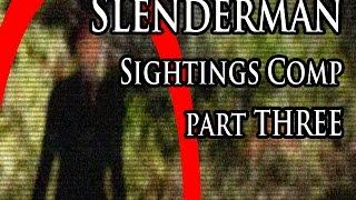 Best Slender man In Real Life Caught On Tape Videos | Compilation 3