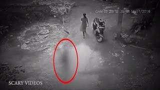 Real Ghost Videos Caught on Camera! | Haunting Videos 2017